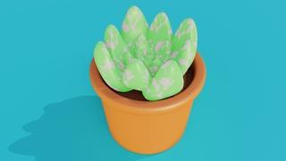 Создаем растение в Blender 2.9   3d моделирование в Blender