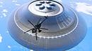 👽 Огромный НЛО в небе - реальная съемка. Летающая тарелка HD UFO