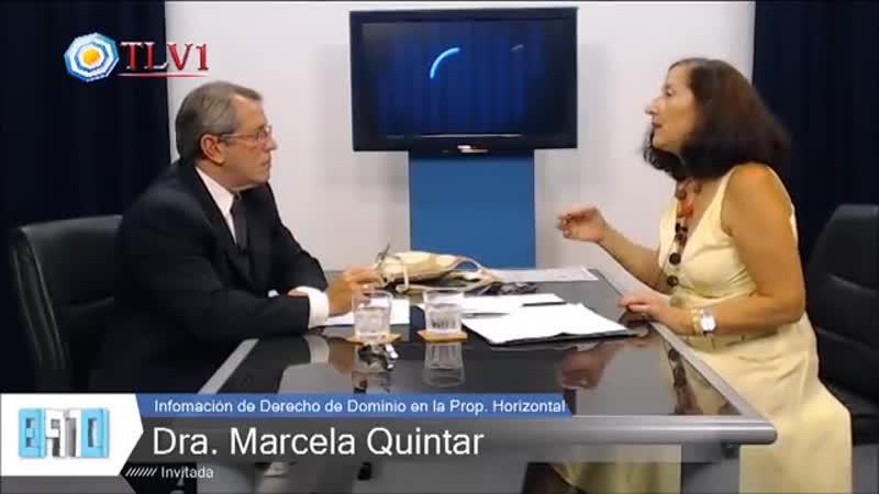 Marcela Isabel Quintar El nuevo Código Civil vulnera la propiedad privada