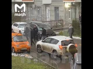 В Москве произошла массовая драка из-за парковки