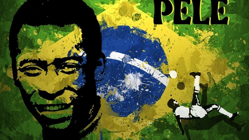 Pele football Pelé Rise of the Brazilian Legend The King of Football Rising With Soccer
