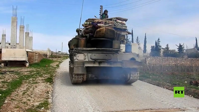 The Syrian army takes control of a strategic village in Idlib countryside