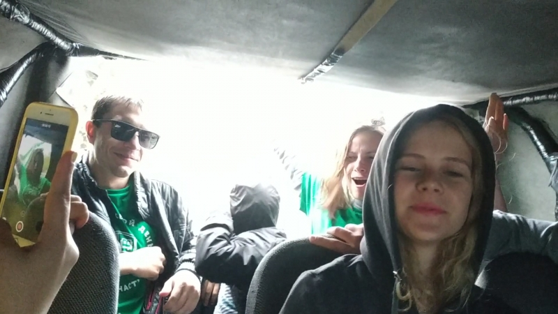 Abkhazia - Riding 1 with Tolyatti team)