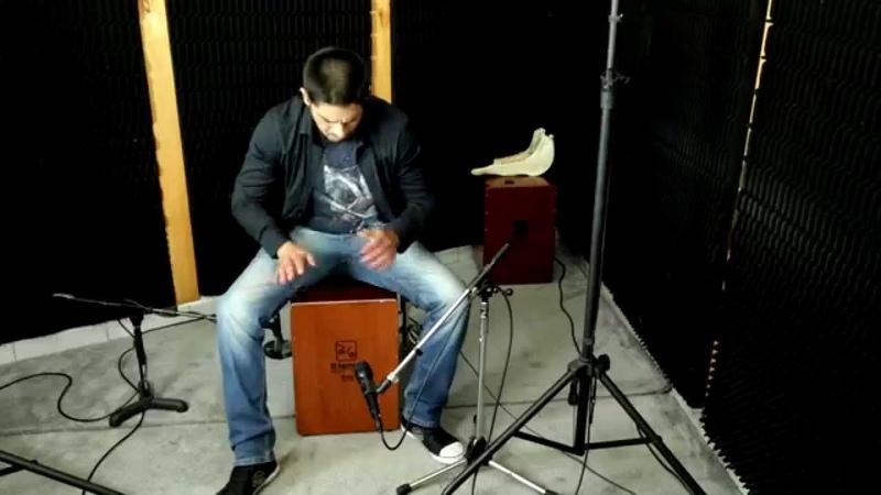 Bateria y Percusion Afro Peruana Francisco Ballon