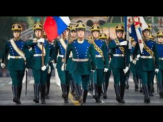 Кремлевские солдаты маршируют в Швейцарии