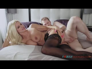 Brittany Andrews - Big Tit Blonde Milf Gets Railed By Her Stepson During The Pandemic - Porno All Sex Hardcore Gonzo Porn, Порно