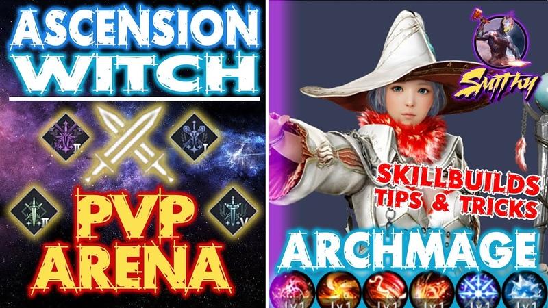 ⚔️Ascension Witch Archmage Arena PVP ascension succession Black Desert Mobile Global