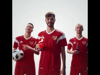 Футбольный праздник с Coca-Cola