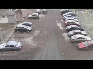 Первый снег! ❄️❄️❄️