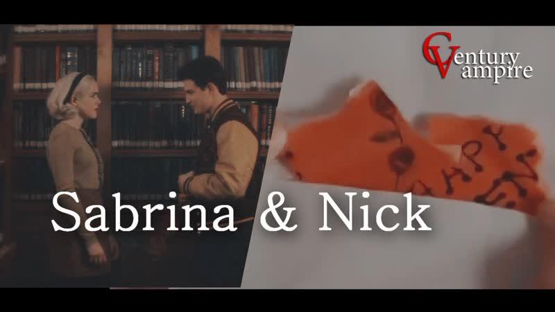Sabrina Nick Сабрина Ник AU l День святого Валентина