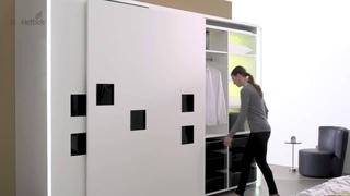 InLine XL раздвижная система для гардеробов гибкость с организации пространства.