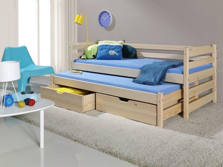 Плюсы и минусы двухъярусных выдвижных кроватей, популярные дизайны, изображение №1