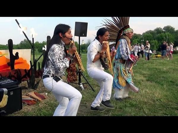 Не музыка а звук жизни Море эмоций и позитива Тinku moderno ~ Ecuador Spirit Sumac Kuyllur