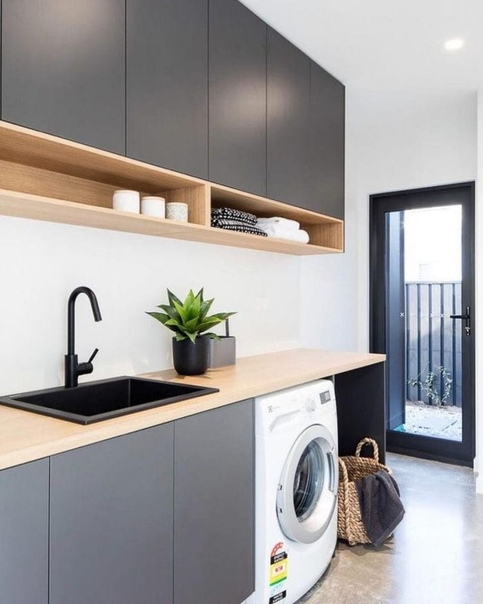 modern laundry room images - 736×1103