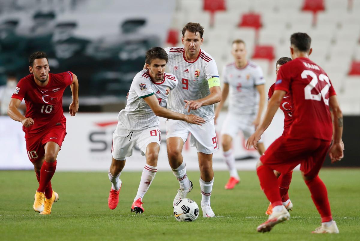Турция - Венгрия, 0:1. Лига наций