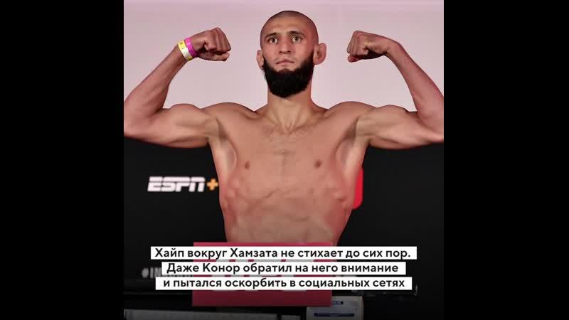 Хамзат Чимаев восходящая звезда UFC