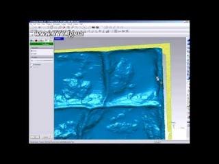 - Сканирование изделия на лазерном сканере
