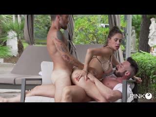 Malena - Enjoys It With Two Big Cocks [2020 г., DP, Anal, MILF, Gonzo, Hardcore, 1080p]