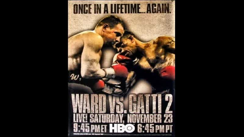 Arturo Gatti vs Micky Ward II HBO World Championship Boxing November 23 2002