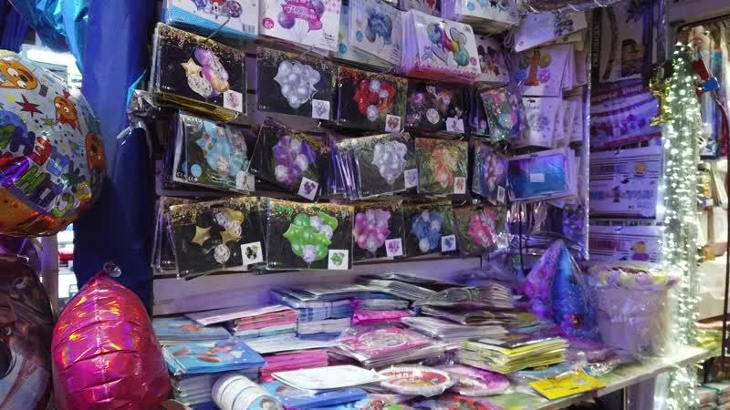 Новогодние товары на рынке Садовод