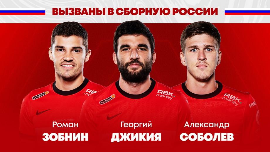 Роман Зобнин, Георгий Джикия и Александр Соболев