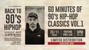 60 Minutes of 90's HIP-HOP Classics Vol.1 by DJ MITSU THE BEATS