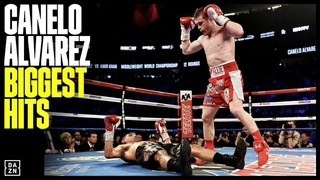 Seven Minutes Of Canelo's Biggest Hits & KOs