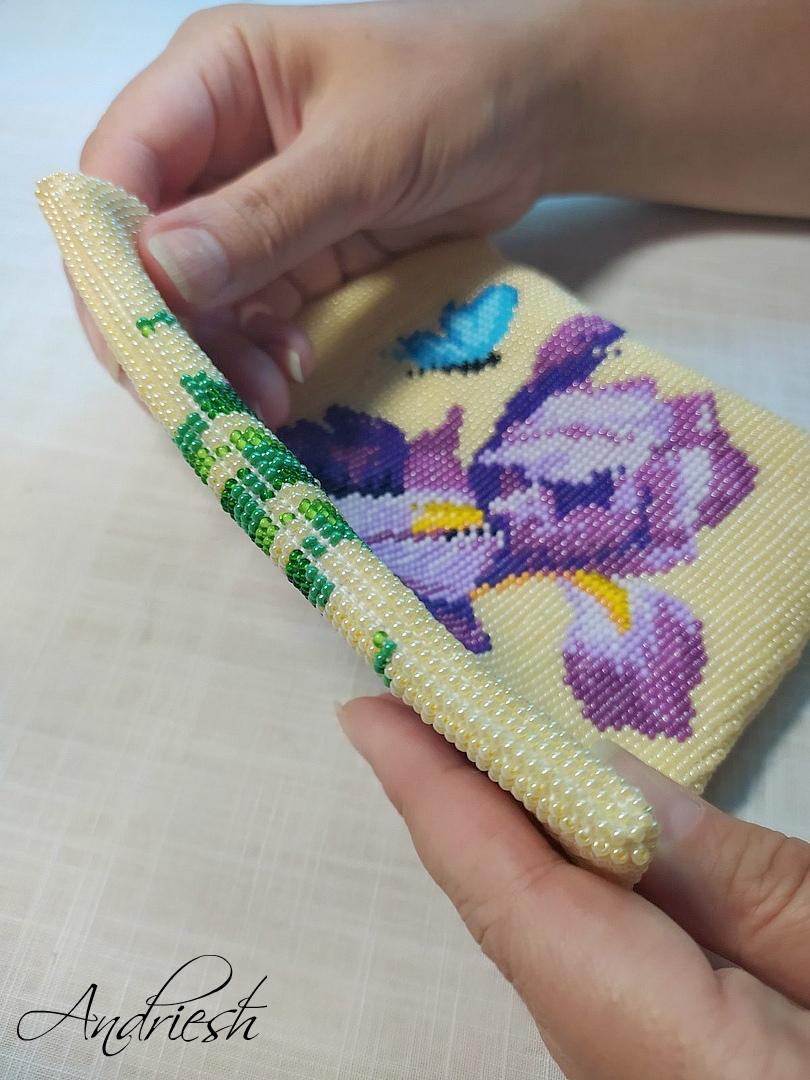 Как я сшиваю донышко и вшиваю в сумки подклад и фермуар., изображение №8