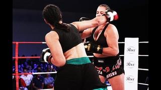 Barbara Nepomuceno vs Talita Moreno - WGP Kickboxing 26