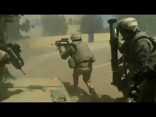 French Army In Heavy Combat Operations Against Insurgents During War In Mali