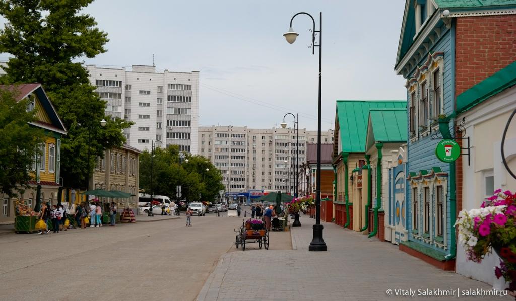 Старо-Татарская слобода изнутри, Казань 2020