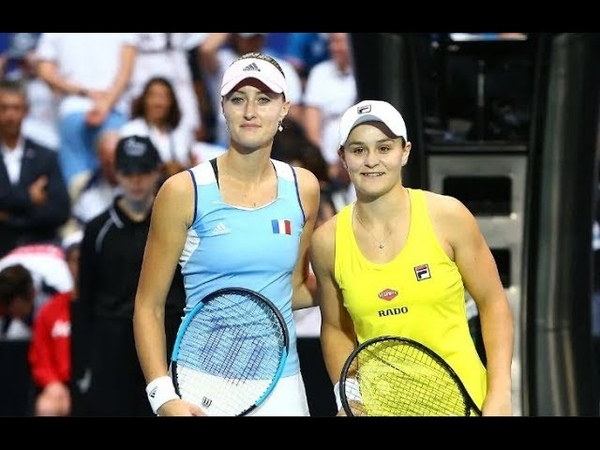 ¡HISTORIC MATCH! - Fed Cup 2019 Final Rub3 - Ashleigh Barty Aus vs Kristina Mladenovic Fra