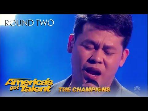 Marcelito Pomoy Philippines Winner SHOCKS America on @Americas Got Talent Champions!