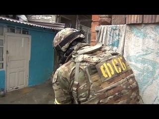 СПЕЦНАЗ ФСБ застрелил террориста оперативная съёмка