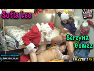 [FakeHostel] Sofia Lee, Sereyna Gomez - Stuck In A Sleeping Bag