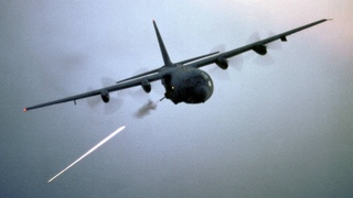 AC-130 Gunship in Action - Firing All Its Cannons • Exercise Emerald Warrior