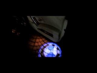 Лазерная проекция авто от
