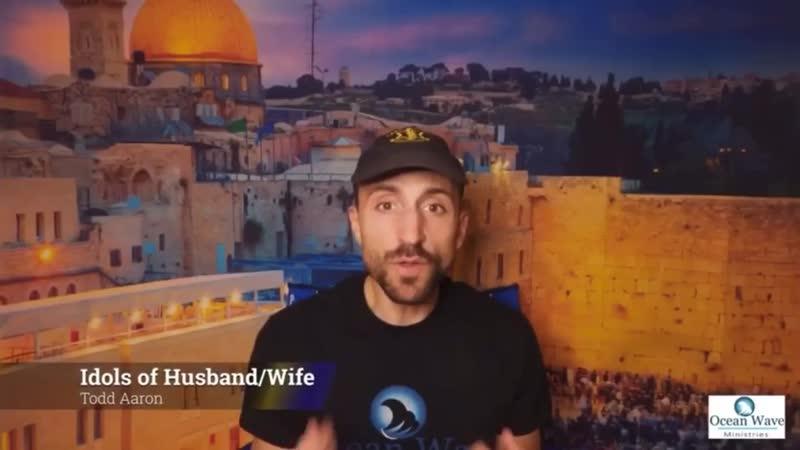 Idols of Husband Wife Ocean Wave Ministries