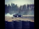 Audi-S4 C4-brutal drift hot donuts