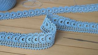 Красивое и простое ЛЕНТОЧНОЕ КРУЖЕВО вязание крючком КАЙМА мастер-класс  Crochet Tape Lace Tutorial