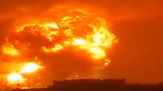 HUGE Explosion at Chemical Plant in Dengfeng, Henan, China - Jul. 20, 2021 登封爆炸