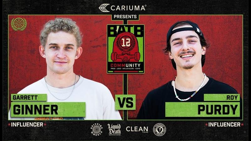 BATB 12 Garrett Ginner Vs Roy Purdy Round 1
