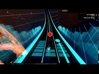 Dreaman - Journey of the Soul (Radio mix). Trip in Audiosurf-2.