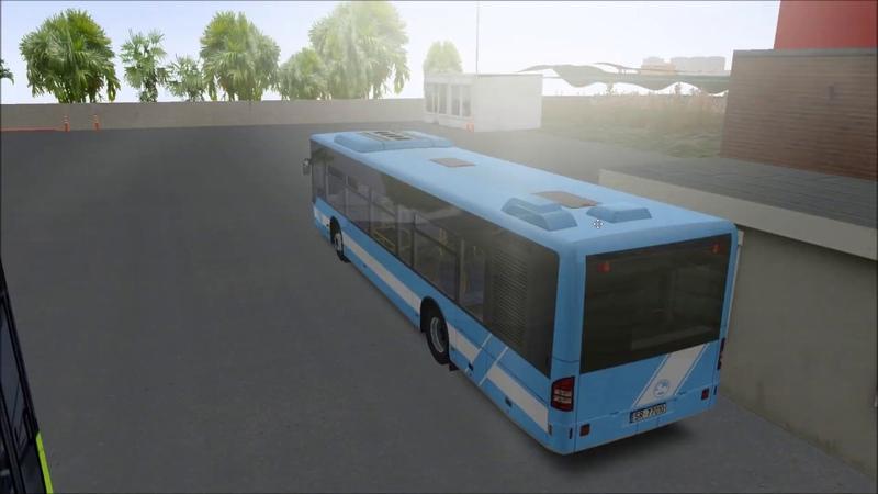 Citybus 628c LF retarder sounds BELEN