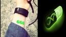 Шестерки засветятся зеленым / 666 антихрист печать прививки чипизация ад загорятся начертание