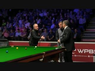 Снукер John Higgins vs Mark Davis English Open 2018