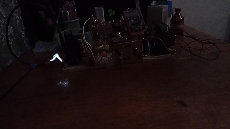 Ламповый строчник 6п44с slow motion