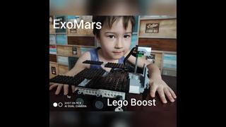ExoMars Rosalind Franklin from Lego Boost