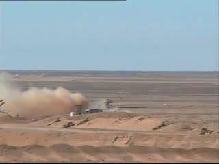 Algerian army recent drills near libya borders