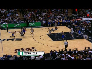International Play of the Day: Festus Ezeli's putback slam!